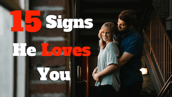 Signs he is deeply in love with you