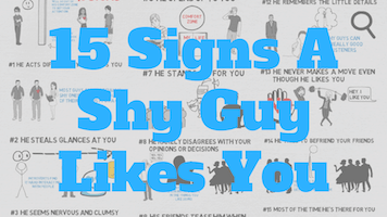 15 Telltale Signs A Shy Guy Likes You | True Medallion