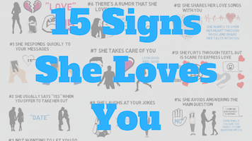 Signs she loves you but is scared