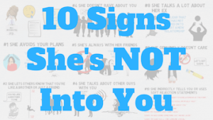 signs she is not interested anymore